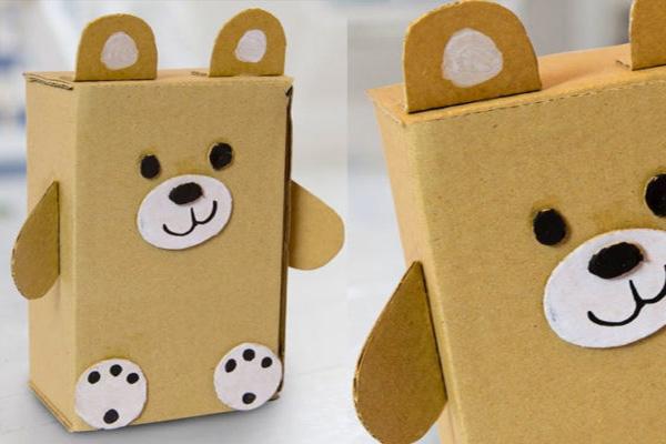 bìa giấy carton làm đồ chơi