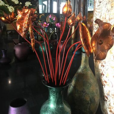 hoa sen gỗ mít